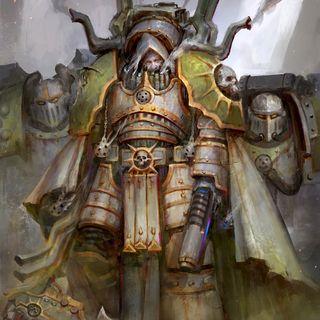 50 - Mortarion y la Guardia de la Muerte