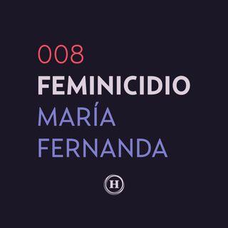 Feminicidio de María Fernanda Rico