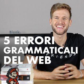 Altri 5 errori grammaticali diffusi sui social