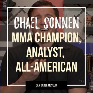 MMA Champion, Analyst and wrestling All-American Chael Sonnen - OTM549