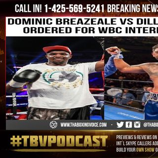 ☎️Dillian Whyte vs Dominic Breazeale😱🔥WBC Interim Heavyweight Title🤯