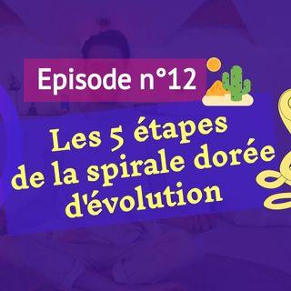12: 5 étapes vers la spirale dorée d'évolution spirituelle