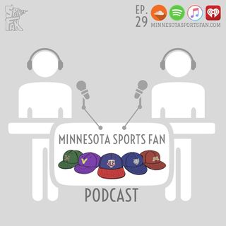 Ep. 29: Mr. Optimistic: TWolves Tank, Gopher Hoops, SKOL Victories, and Hockey Experts