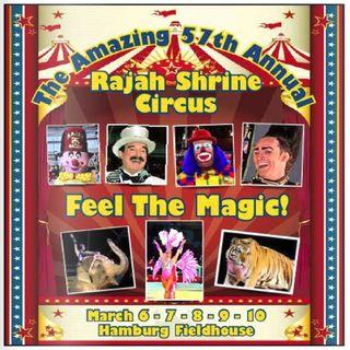 Roundtable - RAJAH SHRINERS CIRCUS CELEBRATING 75 YEARS