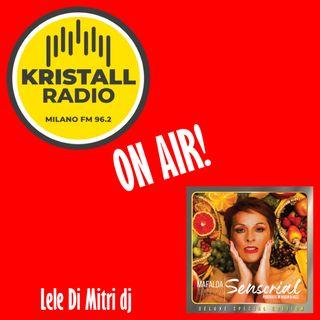 Lele Di Mitri dj intervista Mafalda Minnozzi su Kristall Radio