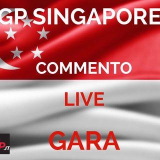 F1 | GP Singapore 2019 - Commento Live Gara