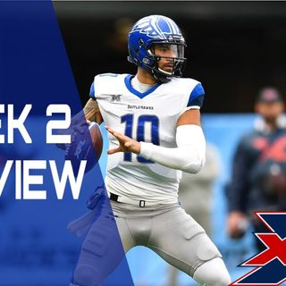 XFL Weekly Show: Week 2 preview W/Mike Goodpaster and Brian Schmidt