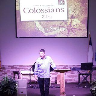 Pastor Joe's sermon on Glory Seekers