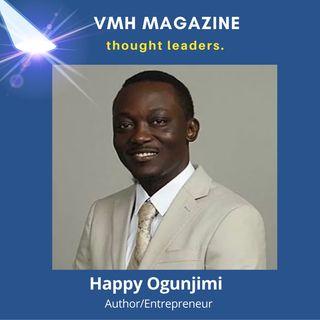 Happy Ogunjimi's Talks Socio-Economic Development, Community Assistance & New Book 'Outcome of Civilizations In Africa'
