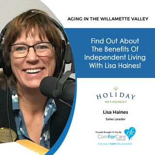 2/19/19: Lisa Haines with Holiday Retirement at Hidden Lakes | Find out about the benefits of Independent Living with Lisa Haines!