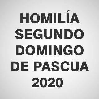 Homilía Segundo Domingo de Pascua 2020