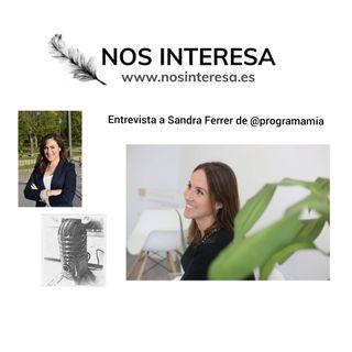 Relaciones y gestión emocional tras 2020 - Entrevista a Sandra Ferrer de Programa Mia