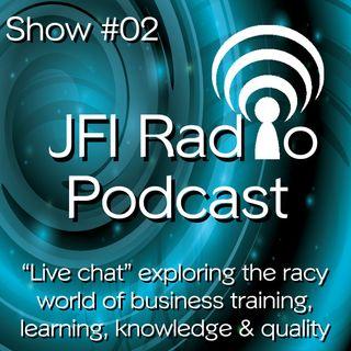 #02 JFI Radio 'LIVE' launch episode