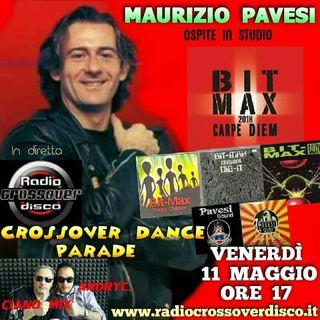 CROSSOVER DANCE PARADE - DJ CIANO MIX - DJ ANDRYC. - SPECIAL GUEST MAURIZIO PAVESI