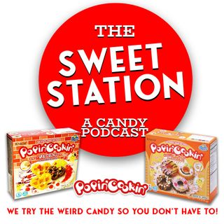 The Sweet Station tries Popin' Cookin DIY Candy Kits