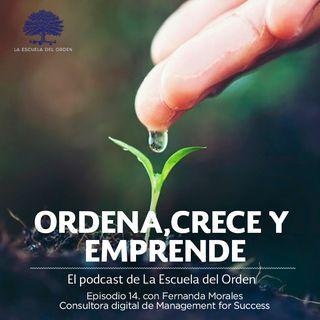 Ep. 14 con Fernanda Morales, consultora digital de Management for Success