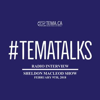 #TemaTalks - The Sheldon MacLeod Show Radio Interview