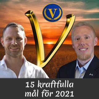 Avsnitt 15. 15 kraftfulla mål för 2021