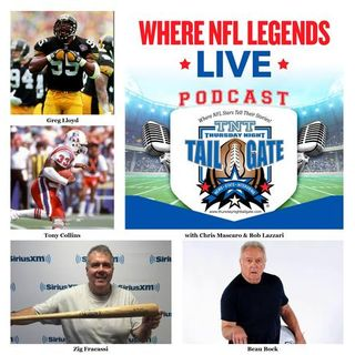 Greg Lloyd, Tony Collins, Zig Fracassi & Beau Bock Join Us...