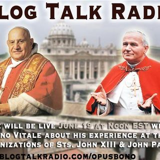 Saint John Paul II and Saint John XXIII