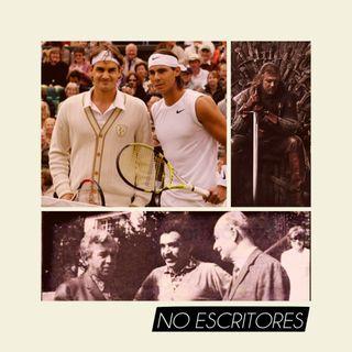 Los No Escritores conversan: Dragones, boom latinoamericano y tenis.