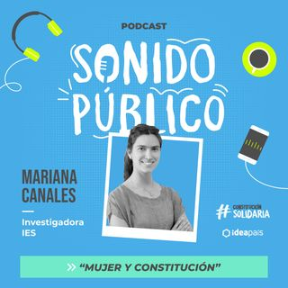 """Mariana Canales en """"Mujer y Constitución"""""""