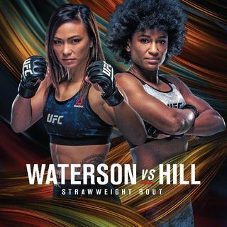 Preview Of The UFCVegas 10 Card Headlined By Strawweights Michelle Waterston-Angela Hill Live On ESPN From UFC Apex Center In Las Vegas