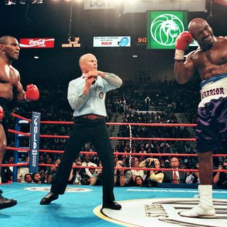 Old Time Boxing Show:A look Back at Holyfield-Tyson
