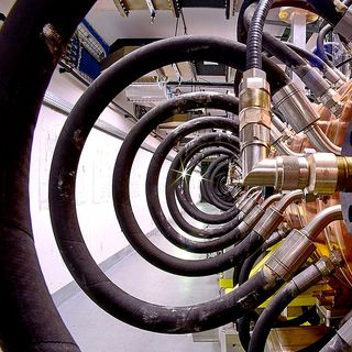 New targets for the world's biggest atom smasher and wood designed to cool buildings