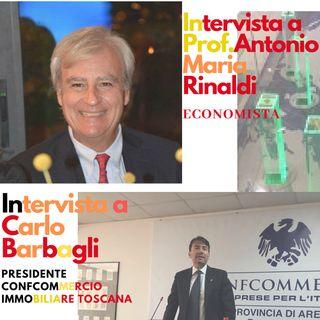 puntata spread con Prof.Antonio Maria Rinaldi e Carlo Barbagli Presidente FIMAA