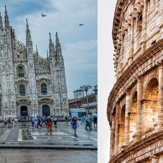 Milano - Roma, una videoinchiesta svela il derby del consumo di suolo