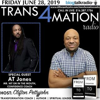 A.T. Jones will be Joining Clifton Pettyjohn  with Trans4mation Radio