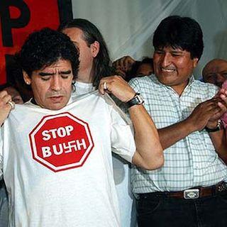 Maradona, el tren del ALBA y la Contracumbre - La Pavada Radio