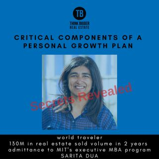 Critical Components of a Personal Growth Plan with Sarita Dua