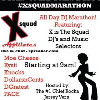 X Squad Radio presents The Pod Block ft Clutch Conversationsn, Choppin It Up W/ Q, Touchdowns & Tangents, From Da Bottom