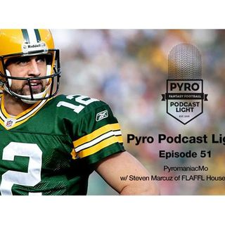 Pyro Light Fantasy Football Podcast – episode 51 – Week 9 – NFL 2016