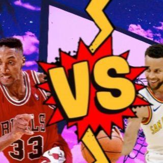 Scottie Pippen VS Steph Curry