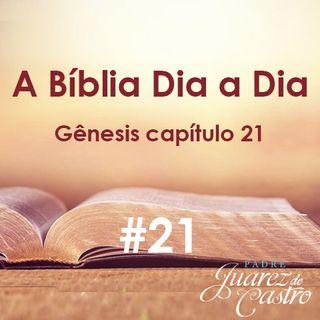 Curso Bíblico 21 - Gênesis Capítulo 21 - Nascimento de Isaac - Padre Juarez de Castro
