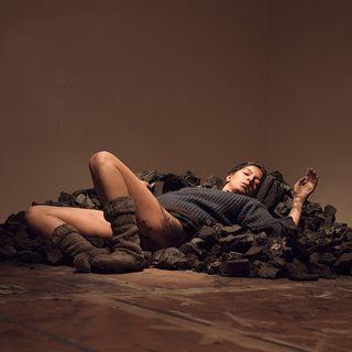 Vibrating Materials 01: artist and performer Samita Sinha