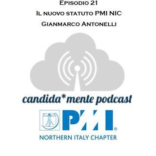 Episodio 21 - Gianmarco Antonelli - Il nuovo statuto PMI NIC