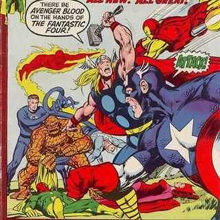 """Source Material #211 - Avengers - """"The Kree Skrull War"""" (Marvel, 1971)"""