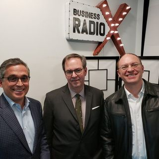 Del Ross with Hotel Effectiveness, Mike Lamb with LexisNexis Risk Solutions and Mike Gaburo with Brightwell