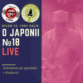 LIVE: Gotowanie po japońsku + Konkurs!
