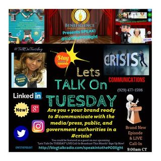 Lets #TalkonTuesday Q: Are you + your brand crisis communication ready?  Call-in