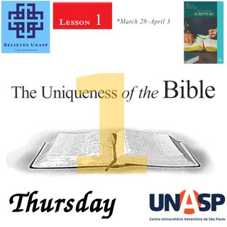 606-Sabbath School - Apr.2 Thursday