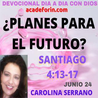 ¿PLANES PARA EL FUTURO?