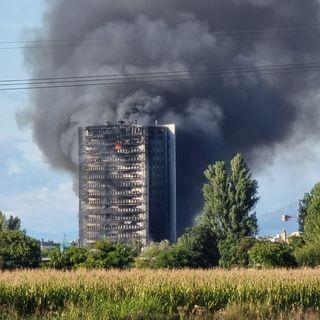 Incendio a Milano, Sam Nabi: «Sono i miei vicini, parte di me e della mia casa»
