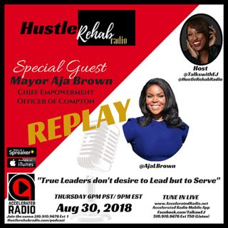 *REPLAY* Hustle Rehab Radio ~ 3-22-18 ~ With Special Guest Aja Brown #46
