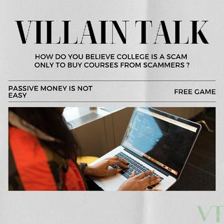 Scammers vs College