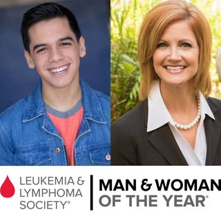 DeAnn Hazey and Braulio Hernadez of the Leukemia & Lymphoma Society South Florida Chapter